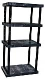 4-Shelf Solid Top